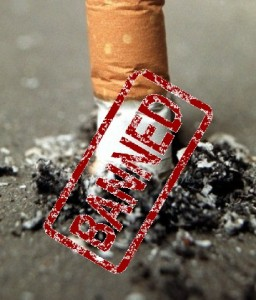 UK bans cigarette